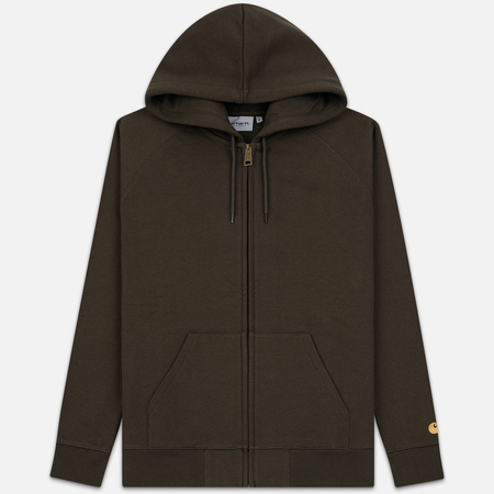 Мужская толстовка Carhartt WIP Hooded Chase Cypress/Gold