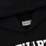 Мужская толстовка Carhartt WIP Hooded College 9.4 Oz Black/White фото- 1