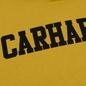Мужская толстовка Carhartt WIP Hooded College 9.4 Oz Colza/Black фото - 2