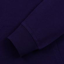 Мужская толстовка Carhartt WIP Hooded College 9.4 Oz Royal Violet/White фото- 4