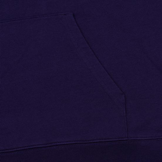 Мужская толстовка Carhartt WIP Hooded College 9.4 Oz Royal Violet/White