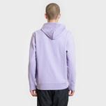 Мужская толстовка Carhartt WIP Hooded College 9.4 Oz Soft Lavender/White фото- 2