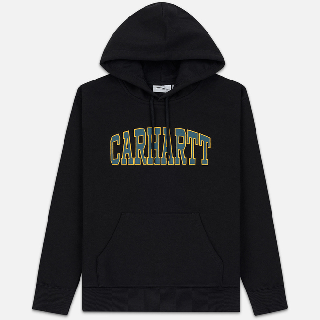 Мужская толстовка Carhartt WIP Hooded Theory 13 Oz Black