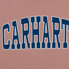 Мужская толстовка Carhartt WIP Hooded Theory 13 Oz Blush фото- 2