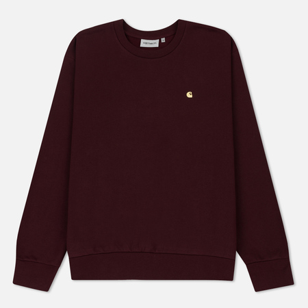 Мужская толстовка Carhartt WIP Madison 9.4 Oz Amarone/Beam