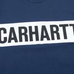 Мужская толстовка Carhartt WIP Shore Blue/White фото- 2