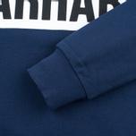 Мужская толстовка Carhartt WIP Shore Blue/White фото- 3