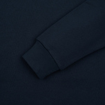 Мужская толстовка Carhartt WIP Wip Script 9.4 Oz Navy/White фото- 3