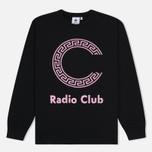 Мужская толстовка Carhartt WIP x P.A.M. Radio Club Logo Black/Vegas Pink фото- 0