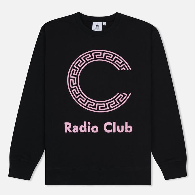 Мужская толстовка Carhartt WIP x P.A.M. Radio Club Logo Black/Vegas Pink