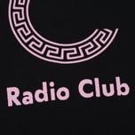 Мужская толстовка Carhartt WIP x P.A.M. Radio Club Logo Black/Vegas Pink фото- 2
