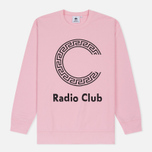 Мужская толстовка Carhartt WIP x P.A.M. Radio Club Logo Vegas Pink/Black фото- 0
