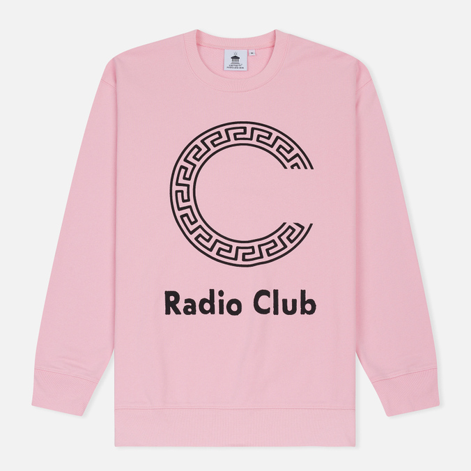 Мужская толстовка Carhartt WIP x P.A.M. Radio Club Logo Vegas Pink/Black