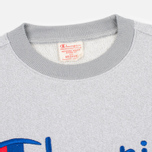 Мужская толстовка Champion Reverse Weave 2 Tone Crew Neck Marl Grey фото- 1