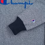 Мужская толстовка Champion Reverse Weave 2 Tone Crew Neck Marl Navy фото- 3