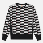 Мужская толстовка Champion Reverse Weave All Over Print Champion Black фото- 0