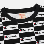Мужская толстовка Champion Reverse Weave All Over Print Champion Black фото- 1