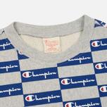 Мужская толстовка Champion Reverse Weave All Over Print Champion Grey фото- 1