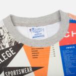 Мужская толстовка Champion Reverse Weave All Over Print Sport Grey фото- 1
