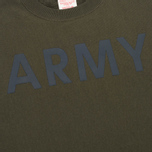 Мужская толстовка Champion Reverse Weave Army Crew Neck Olive фото- 2