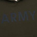 Мужская толстовка Champion Reverse Weave Army Hoody Olive фото- 2
