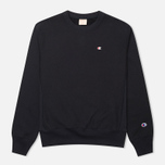 Мужская толстовка Champion Reverse Weave Basic Crew Neck Navy фото- 0