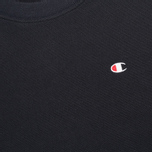 Мужская толстовка Champion Reverse Weave Basic Crew Neck Navy фото- 2