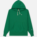 Мужская толстовка Champion Reverse Weave Basic Patch Logo Verdent Green фото- 0