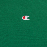 Мужская толстовка Champion Reverse Weave Basic Patch Logo Verdent Green фото- 2