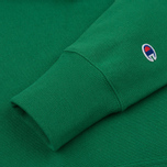 Мужская толстовка Champion Reverse Weave Basic Patch Logo Verdent Green фото- 3