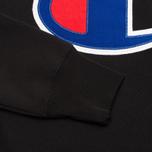 Мужская толстовка Champion Reverse Weave Big C Black фото- 3