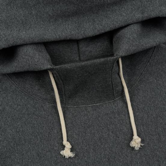 Мужская толстовка Champion Reverse Weave Big Script Arm Hooded Dark Grey