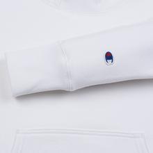 Мужская толстовка Champion Reverse Weave Big Script Arm Hooded White фото- 2
