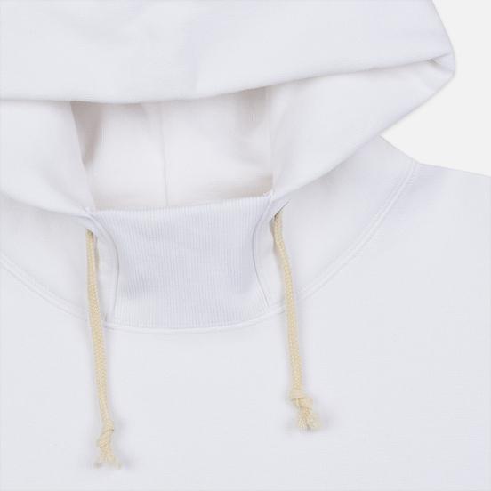 Мужская толстовка Champion Reverse Weave Big Script Arm Hooded White