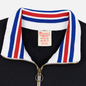 Мужская толстовка Champion Reverse Weave Big Script Block Half Zip Black/White фото - 1