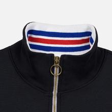Мужская толстовка Champion Reverse Weave Big Script Block Half Zip Black/White фото- 2