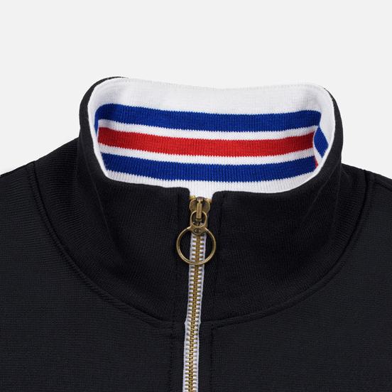 Мужская толстовка Champion Reverse Weave Big Script Block Half Zip Black/White