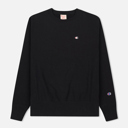 Мужская толстовка Champion Reverse Weave Classic Crew Neck Black