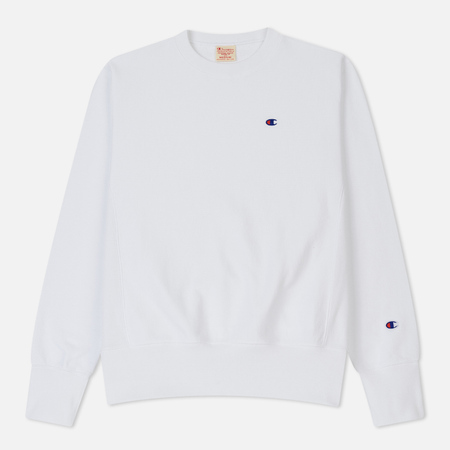 Мужская толстовка Champion Reverse Weave Classic Crew Neck White