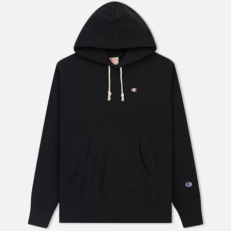Мужская толстовка Champion Reverse Weave Classic Hooded Black