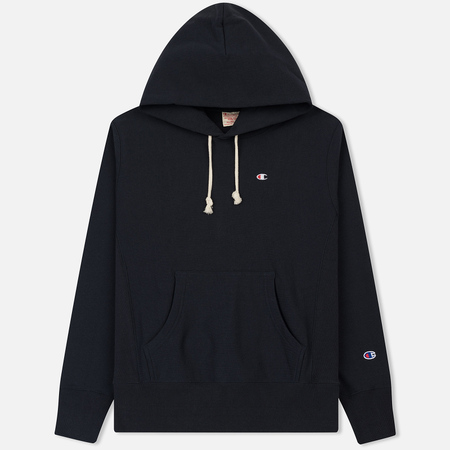 Мужская толстовка Champion Reverse Weave Classic Hooded New Navy