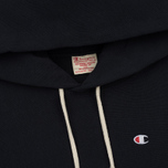 Мужская толстовка Champion Reverse Weave Classic Hooded New Navy фото- 1