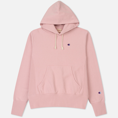 Мужская толстовка Champion Reverse Weave Classic Hooded Pale Pink