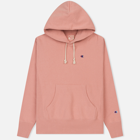 Мужская толстовка Champion Reverse Weave Classic Hooded Pink