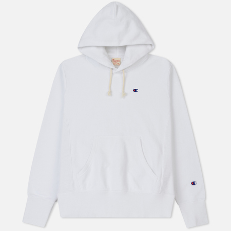 Мужская толстовка Champion Reverse Weave Classic Hooded White