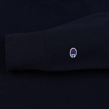 Мужская толстовка Champion Reverse Weave Color Block Hooded Navy/Teal фото- 3