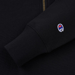 Мужская толстовка Champion Reverse Weave Half Zip Black фото- 3