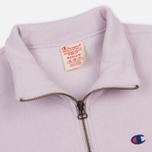 Мужская толстовка Champion Reverse Weave Half Zip Lavender фото- 1