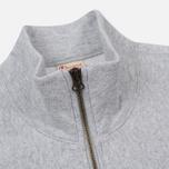 Мужская толстовка Champion Reverse Weave Half Zip Light Grey фото- 2