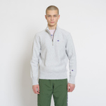Мужская толстовка Champion Reverse Weave Half Zip Black фото- 4